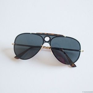Accessories - Black Retro Aviator Sunglasses